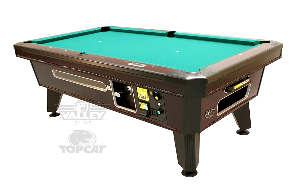 Valley Pool Table Top Cat