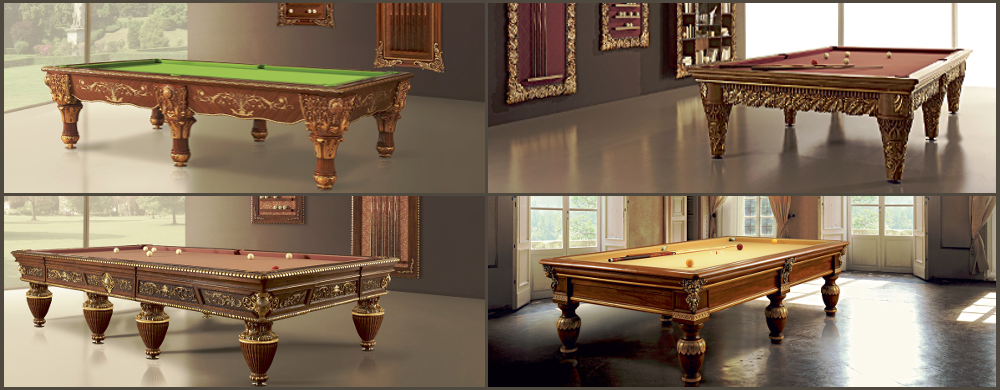 Gold Billiard Tables
