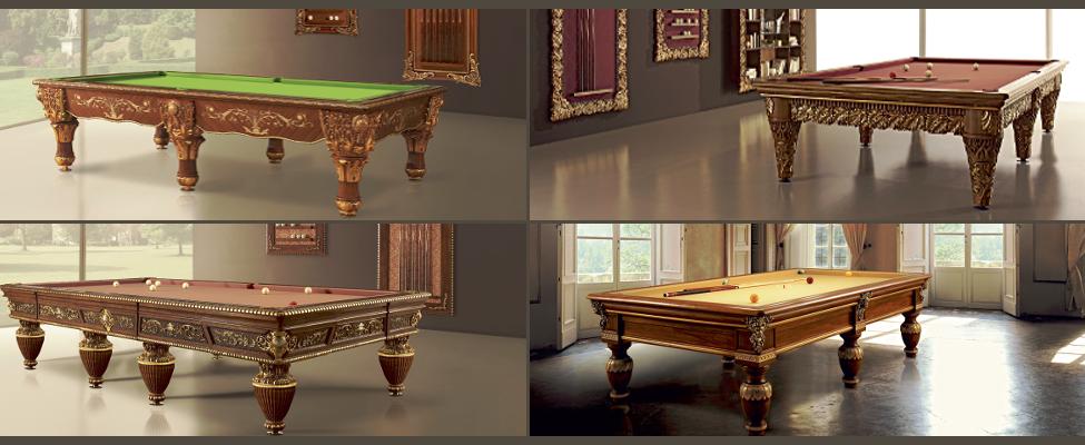 Mesa de bilhar/Snooker Gold