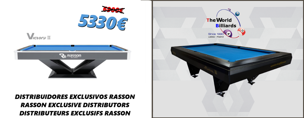 Table de billard Storm II